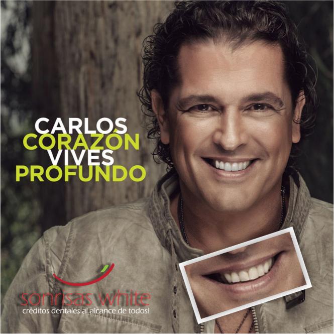 Carlos Vives - Diseño de Sonrisa Digital - Corazon Profundo
