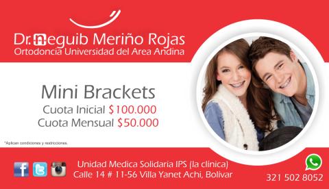 Mini Brackets Publicidad Achi, Majagual, Guaranda