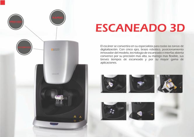 03 Tecnologia CadCam - Escaneado 3D - Sonrisas White
